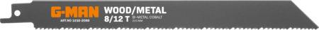 1016 Reciprocating Blades Bi-metal 8/12 Teeth/inch