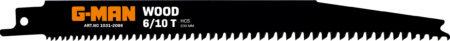 1031 Tigersågblad Verktygsstål 6-10 Tänder/tum (prog)