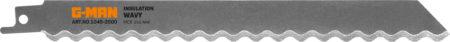 1045 Tigersågblad Verktygsstål (gummi, Cellplast, Läder)
