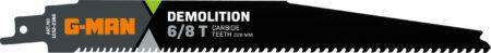 1052 Reciprocating Blades Tungsten Carbide 6-8 Teeth/inch