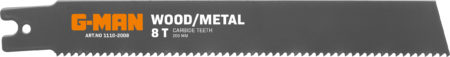 1110 Reciprocating Blades Bi-metal U-shank 8 Teeth/inch