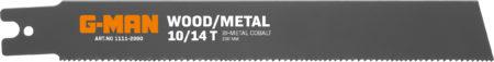1111 Reciprocating Blades Bi-metal U-shank 10/14 Teeth/inch