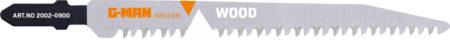 2002-0900 Sticksågblad Verktygsstål, Bosch-fäste