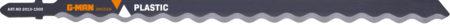 2013-1500 Sticksågblad Verktygsstål, Bosch-fäste